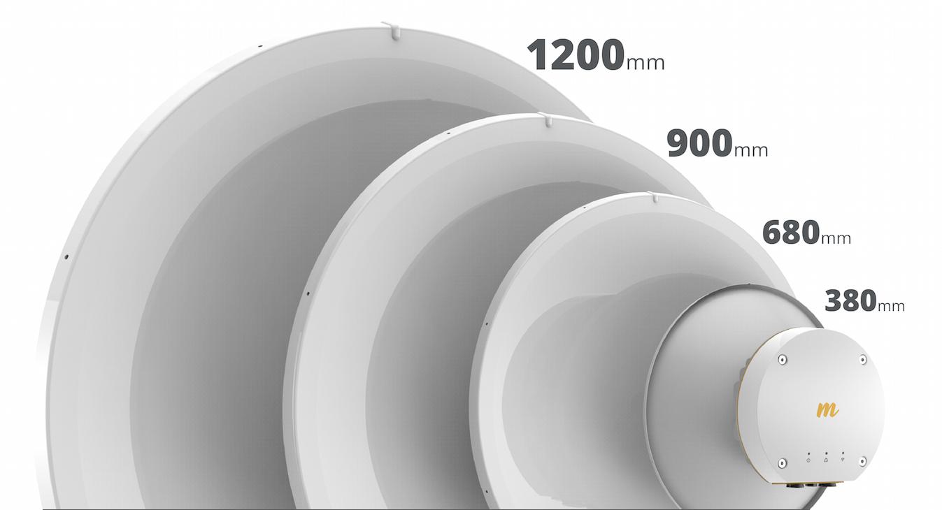 A B11 adapta-se a diversos tamanhos de antenas